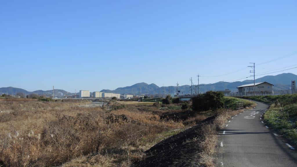 石川サイクルライン 二上山